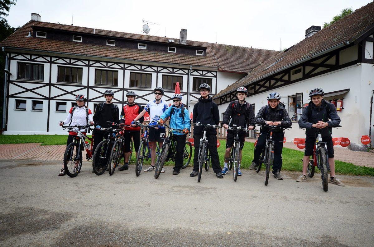 Cykloturistický kurz – Machův mlýn 2013