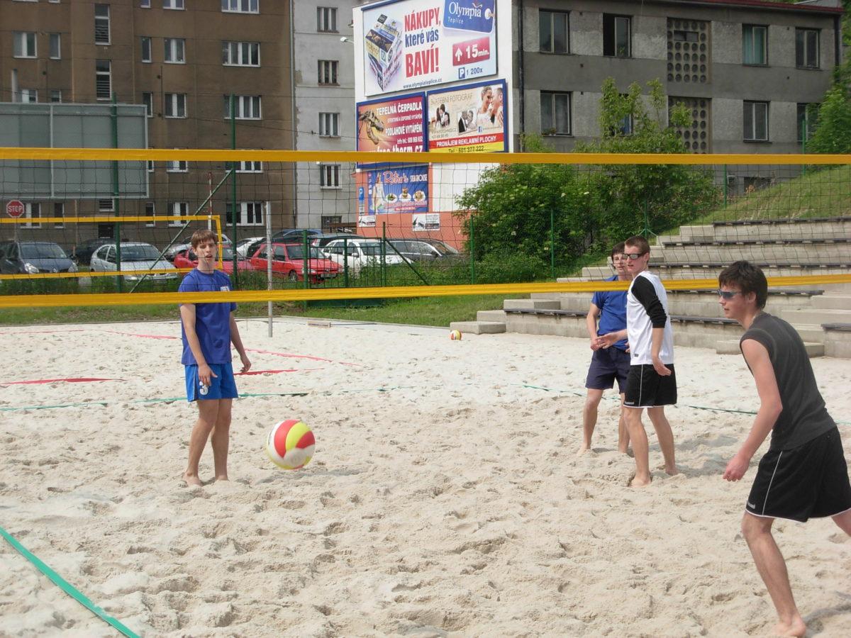 Krajské kolo v beach volejbale SŠ – 1. místo