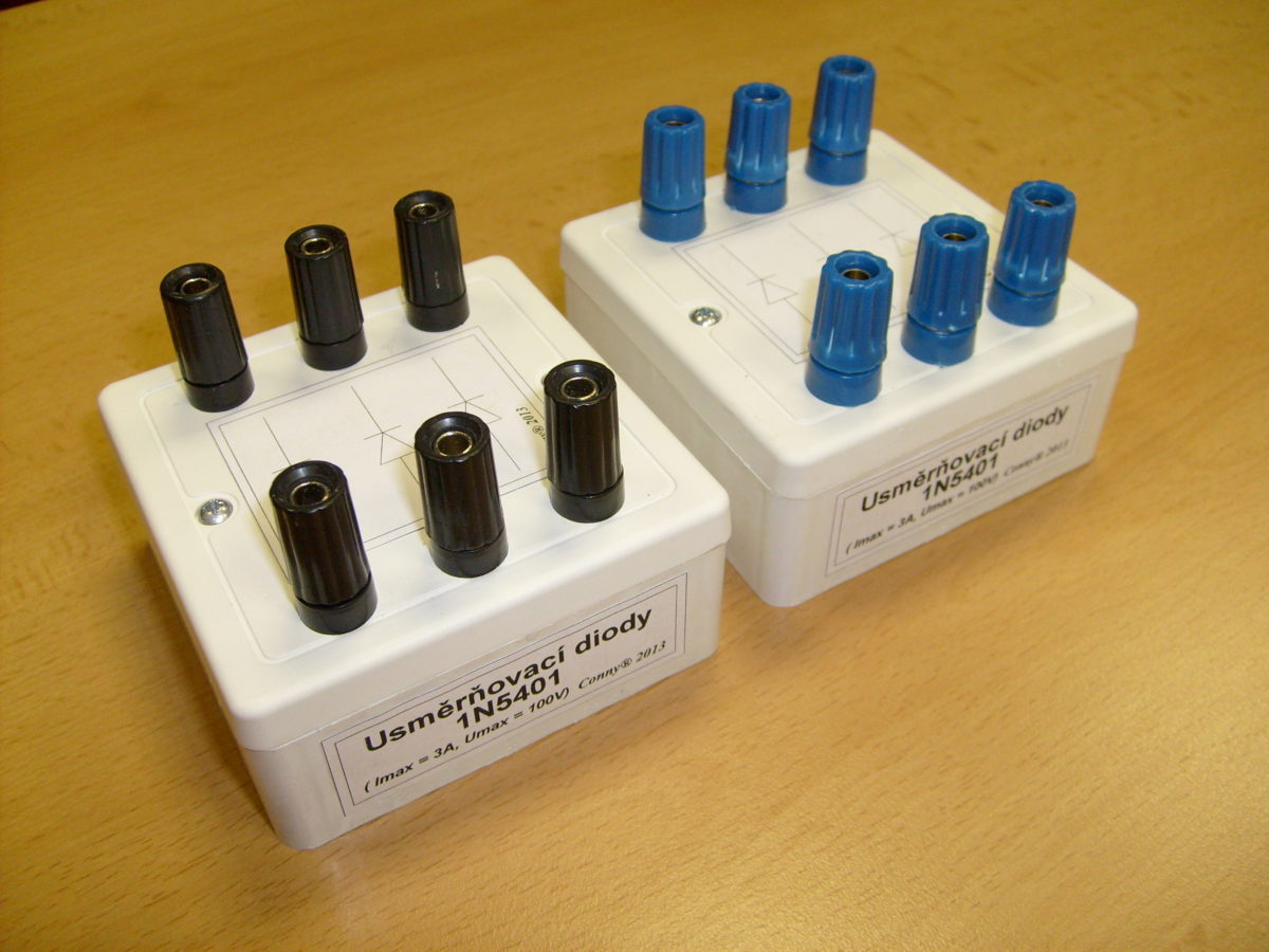 Nový přípravek pro laboratoř elektrických strojů