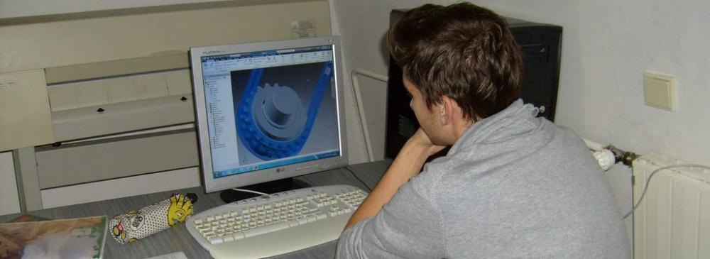 Specializace - Automatizovaná konstrukce ve strojírenství