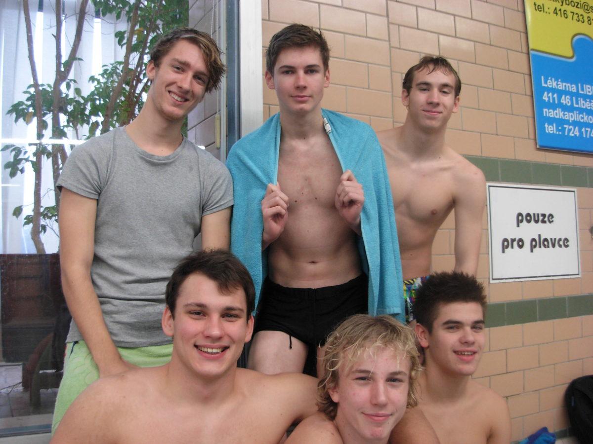 Krajské kolo v plavání SŠ – 4. místo