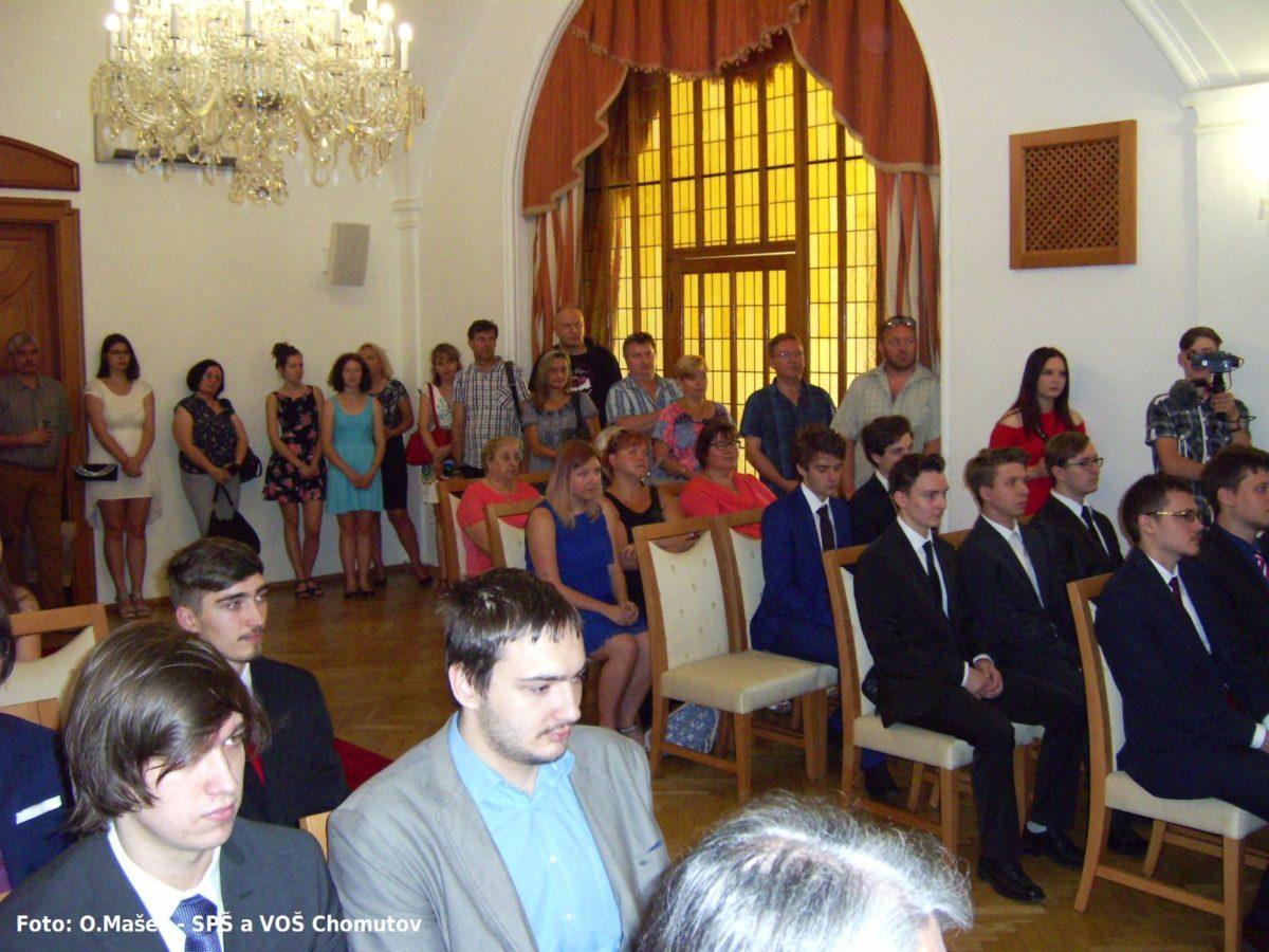Slavnostní předávání vysvědčení absolventům